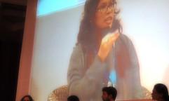 Bimbika Basnett speaking at WCA2014. Photo by Rob Finlayson/ICRAF